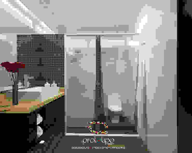 Baño Casa 57 Casa Fuerte Baños modernos de Prototipo Arquitectos Moderno