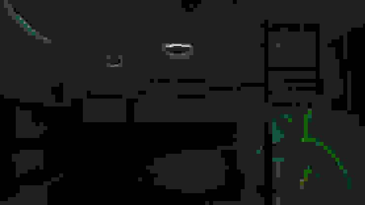La casita encantada de la isla (Diseño de una habitación infantil) Cuartos infantiles de estilo tropical de Rbritointeriorismo Tropical