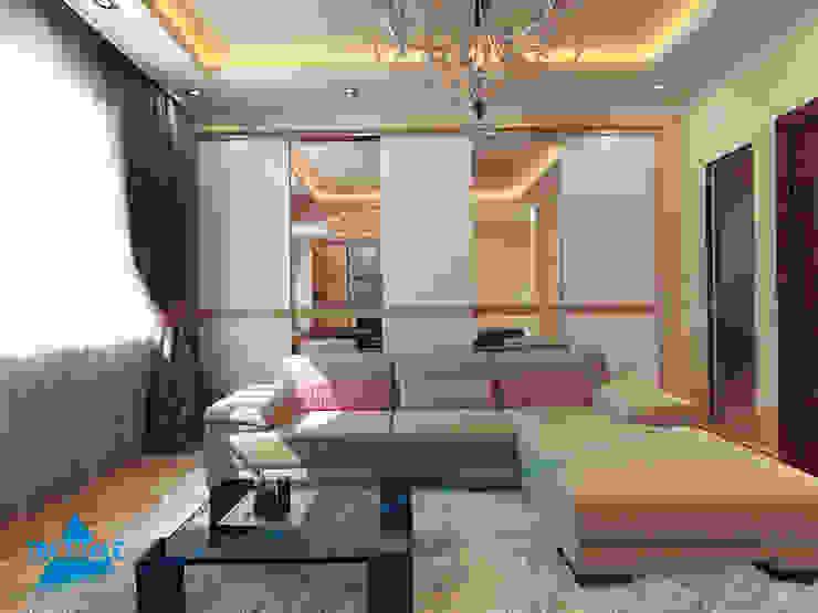 triangle DormitoriosPlacares y cómodas Beige