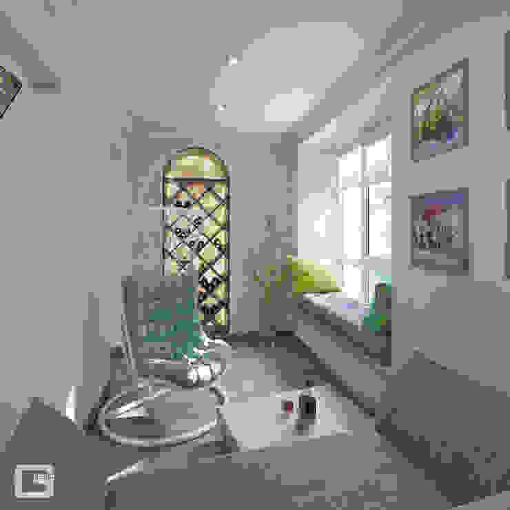 Giovani Design Studio Eclectic style balcony, veranda & terrace