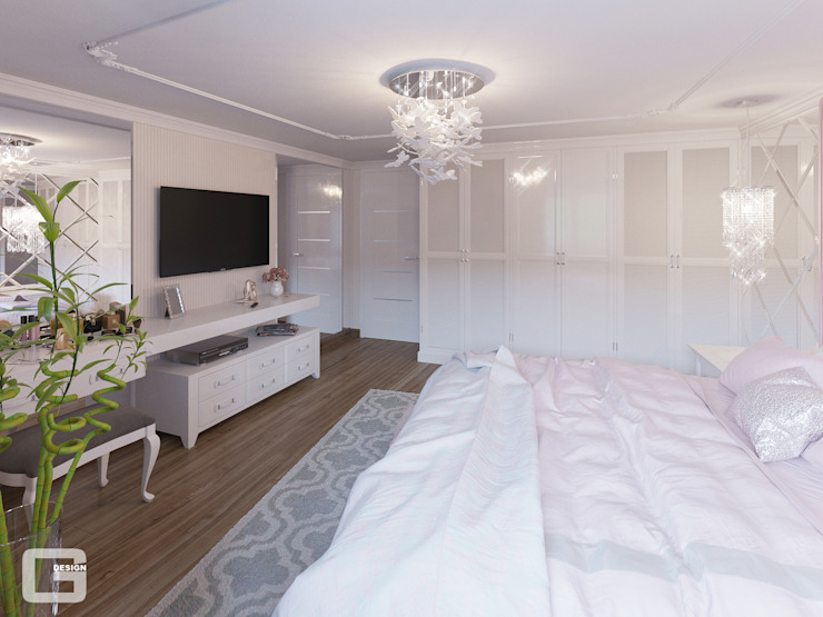 Giovani Design Studio Eclectic style bedroom