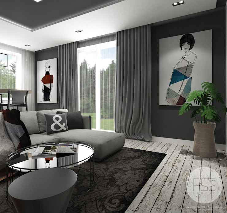 by ASA studio Modern Wood Wood effect