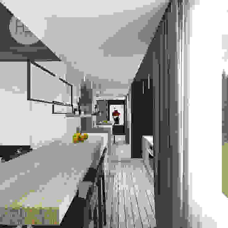 Modern dining room by ASA studio Modern
