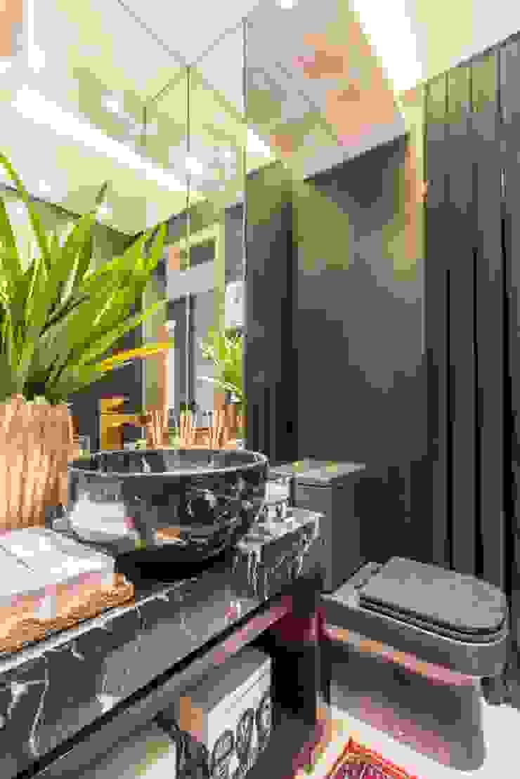 Apartamento Cobertura Banheiros modernos por Spengler Decor Moderno