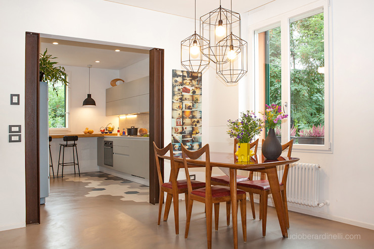 Salas / recibidores de estilo  por senzanumerocivico, Moderno