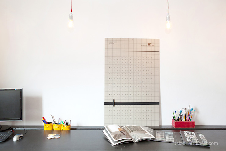 senzanumerocivico Modern Study Room and Home Office