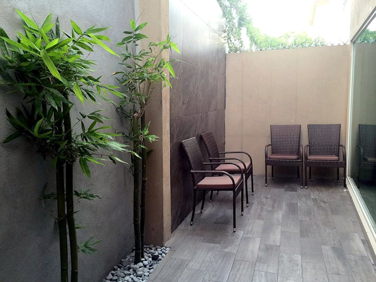 Jardines de estilo moderno de Espacios que Inspiran Moderno Bambú Verde