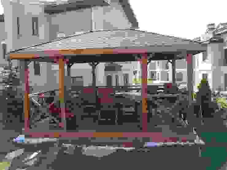 İNDEKS YAPI TASARIM Country style garden Wood Wood effect