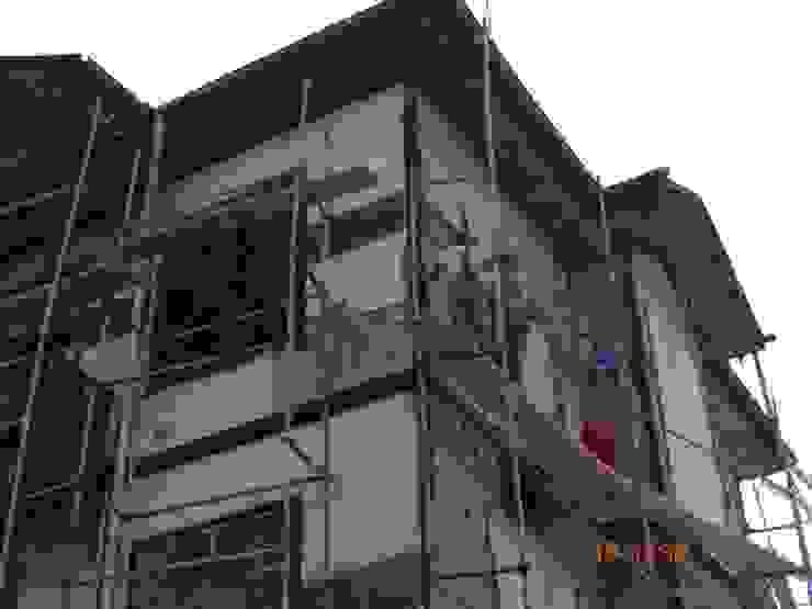 İNDEKS YAPI TASARIM Rustic style houses Wood Wood effect