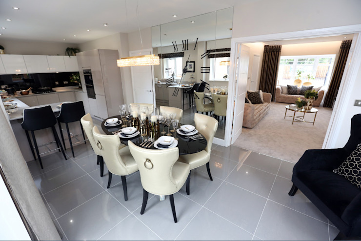 Adding those finishing touches to your home… Modern dining room by Graeme Fuller Design Ltd Modern