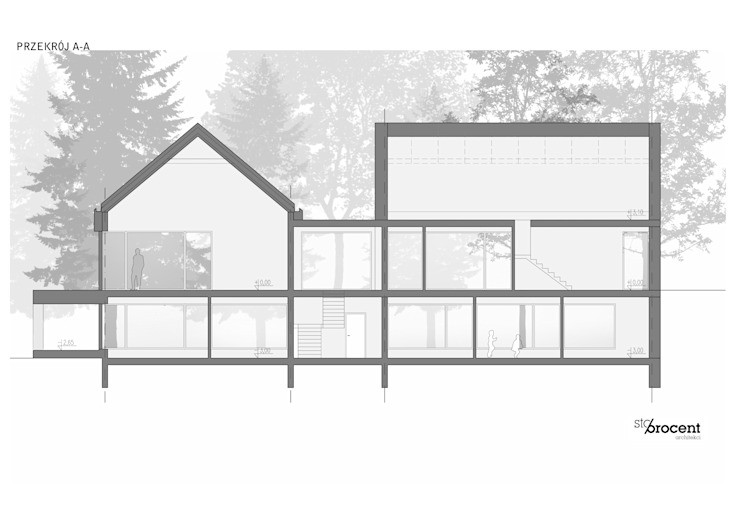 W House by STOPROCENT Architekci