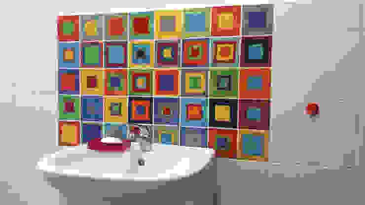 Dekory Nati Modern bathroom Ceramic Multicolored