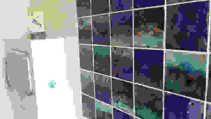 Dekory Nati Modern bathroom Ceramic Blue
