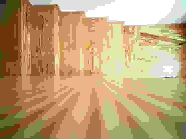 Koridor & Tangga Minimalis Oleh GRAU.ZERO Arquitectura Minimalis