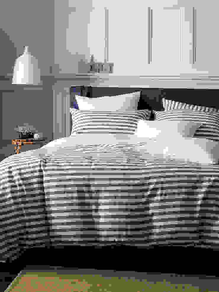 Coastal Stripe Navy Bedding Set Secret Linen Store BedroomAccessories & decoration Cotton Blue