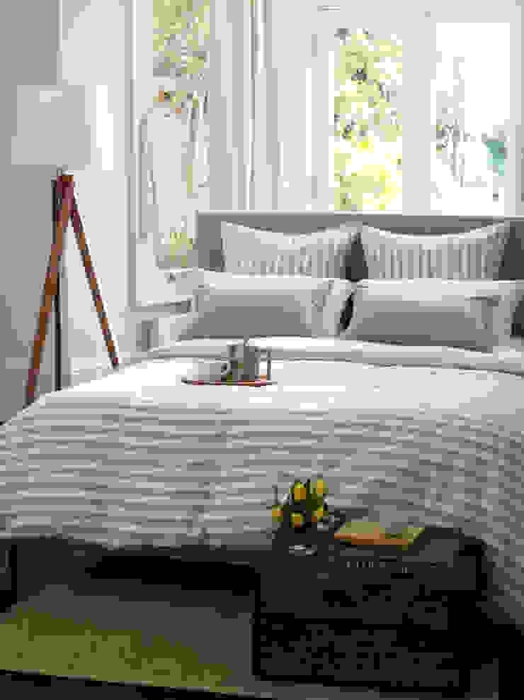 Coastal Stripe Natural Linen Bedding Set Secret Linen Store BedroomAccessories & decoration Cotton Beige
