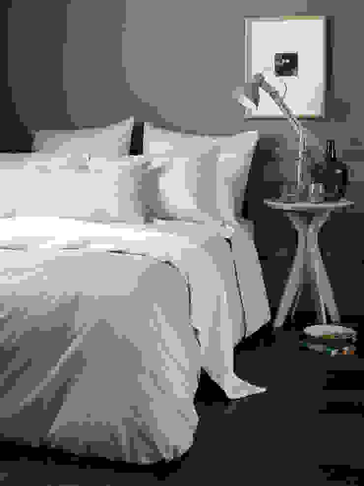 Tiny Stripe Coffee Cream Bedding Set Secret Linen Store BedroomAccessories & decoration Cotton Beige