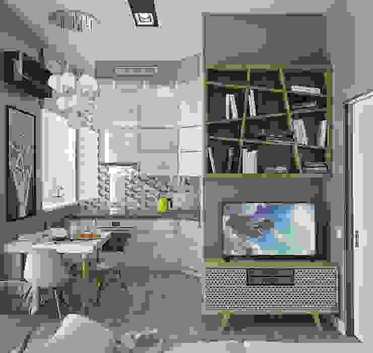 根據 Yurov Interiors 簡約風 木頭 Wood effect