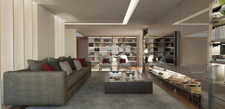 Modern living room by 1870 ARQUITECTURA | INTERIORES Modern