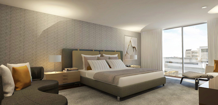 Modern style bedroom by 1870 ARQUITECTURA | INTERIORES Modern