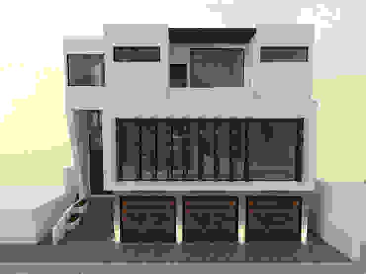 Fachada frontal de Spacio Diseño Construcción