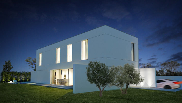 casa ARG Casas modernas por 1870 ARQUITECTURA | INTERIORES Moderno