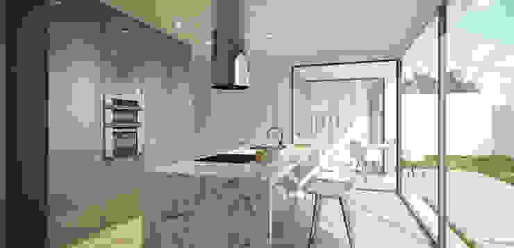 casa ARG Cozinhas modernas por 1870 ARQUITECTURA | INTERIORES Moderno