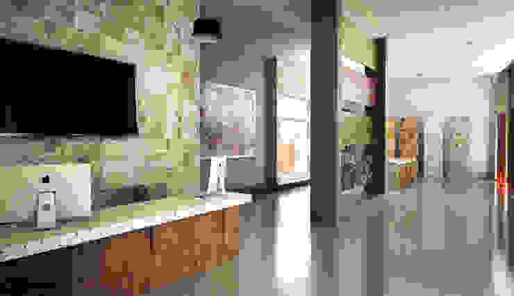 Galeria de Piedra Espacios comerciales de estilo moderno de Spacio Diseño Construcción Moderno