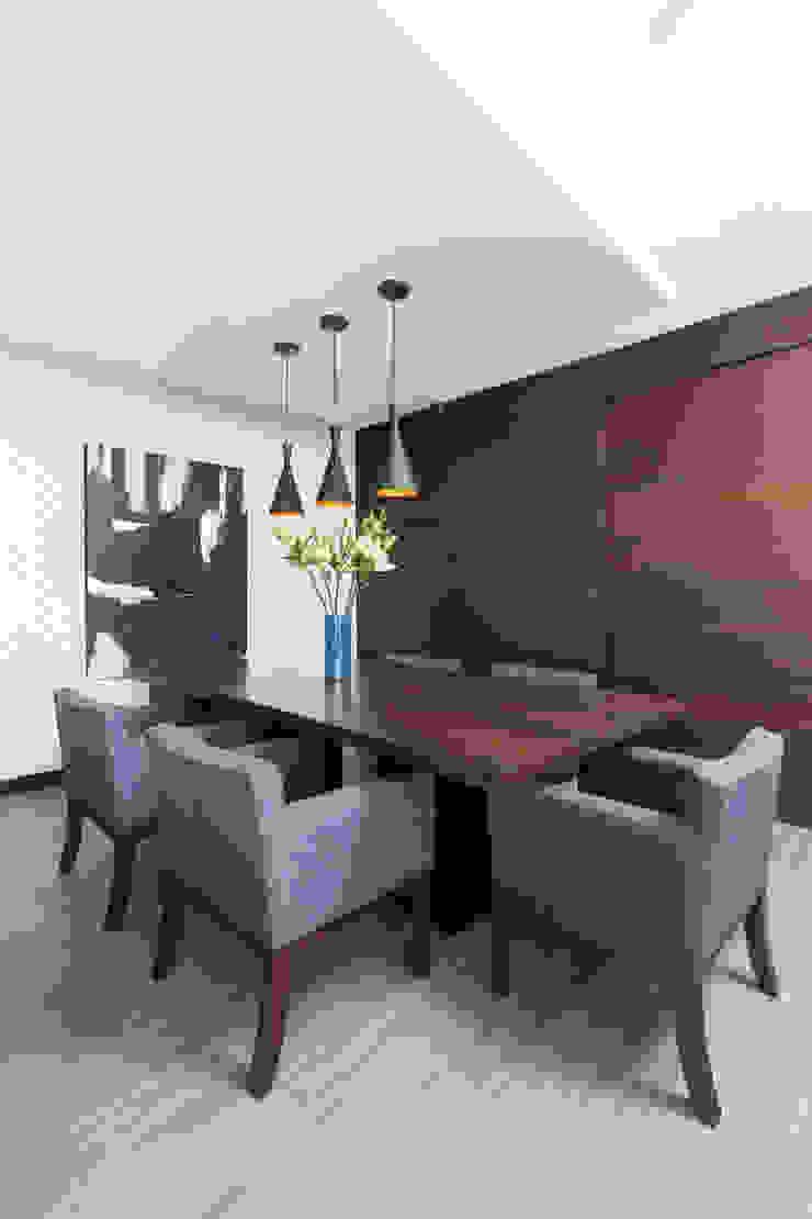 Casa RR Comedores modernos de MM estudio interior Moderno