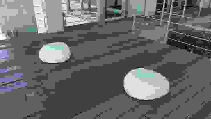 Jardines de estilo ecléctico de 艸木/SOUMOKU Ecléctico Piedra