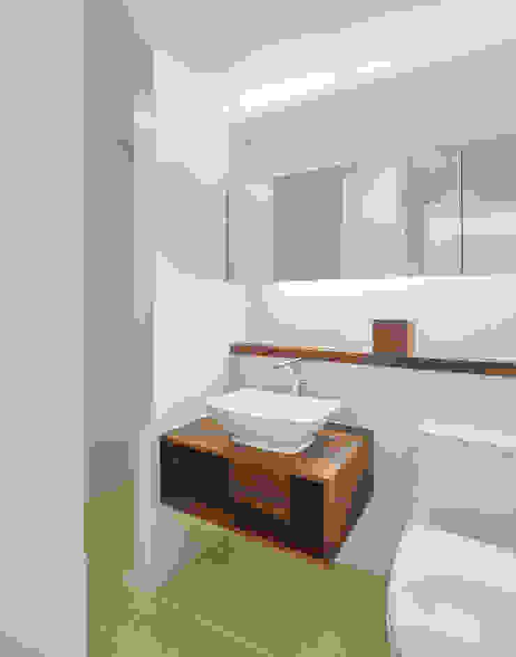신당동 아파트 인테리어 모던스타일 욕실 by 서가 건축사사무소 모던