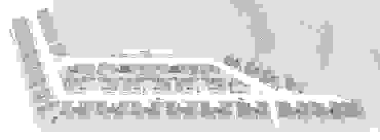 """행복도시 """"이이불이(異而不異)"""" 단독주택 특화단지 설계공모 모던스타일 주택 by 서가 건축사사무소 모던"""