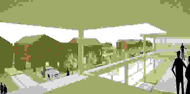 행복도시 <q>이이불이(異而不異)</q> 단독주택 특화단지 설계공모 모던스타일 주택 by 서가 건축사사무소 모던