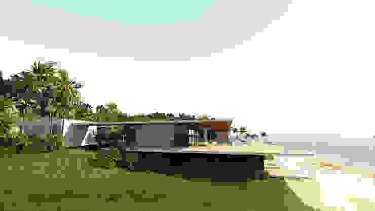 現代房屋設計點子、靈感 & 圖片 根據 ARRIVETZ & BELLE 現代風