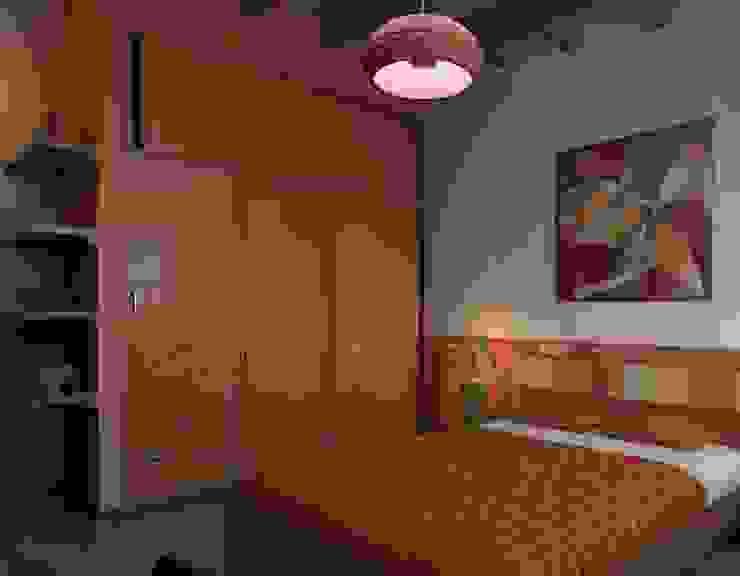 Recámara Hija Dormitorios de estilo ecléctico de Arq. Rodrigo Culebro Sánchez Ecléctico