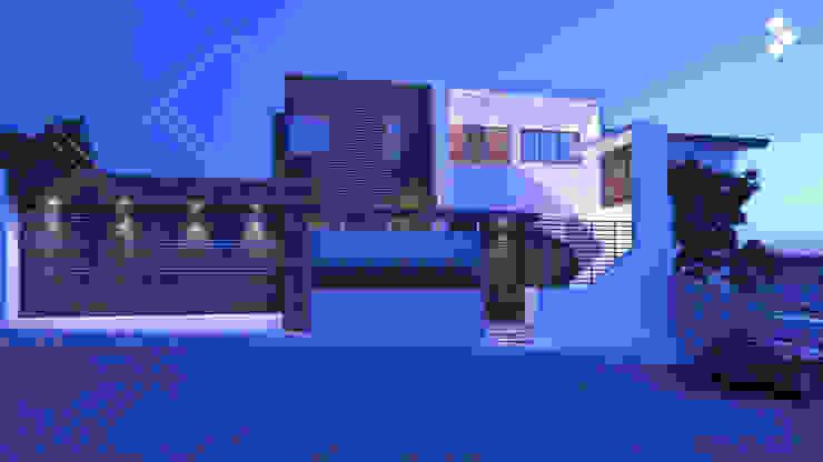 Fachada Casas modernas de CDR CONSTRUCTORA Moderno