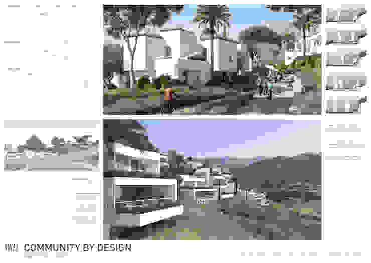 Lámina 1 Casas de estilo moderno de TUAN&CO. arquitectura Moderno