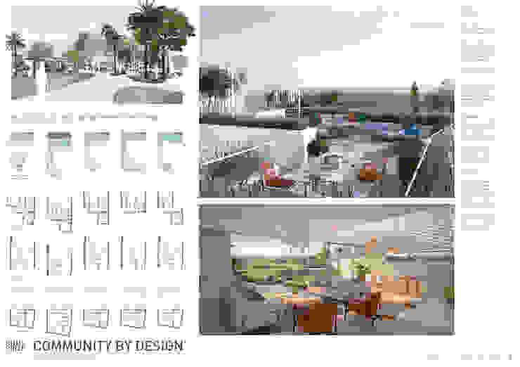 Lámina 3 Casas de estilo moderno de TUAN&CO. arquitectura Moderno