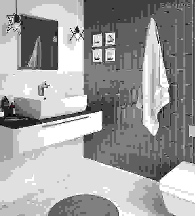 Equipe Ceramicas Modern bathroom Ceramic