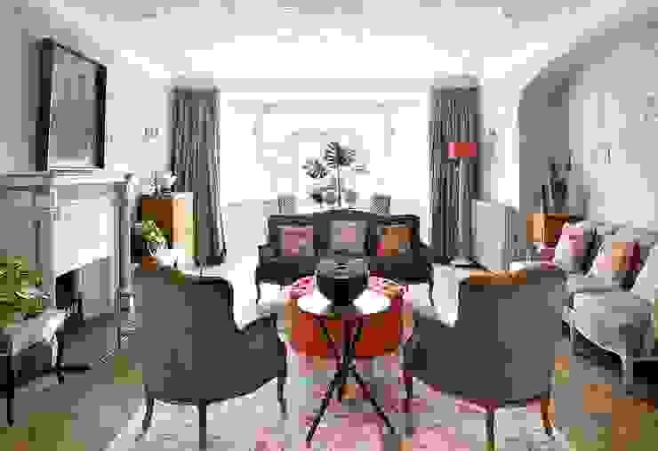 Vintage y Retro iLamparas.com Salones de estilo clásico