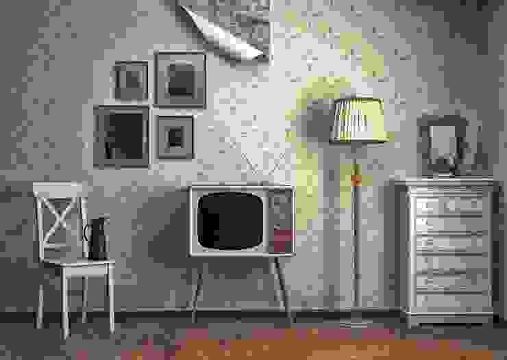 Salas de estilo  por iLamparas.com,