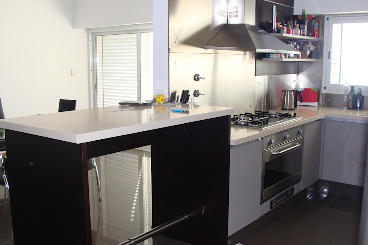 Cocinas de estilo  por Prece Arquitectura, Moderno