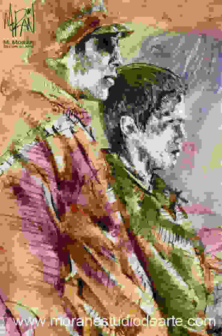 Detalle del cuadro de MORAN Estudio De Arte Minimalista