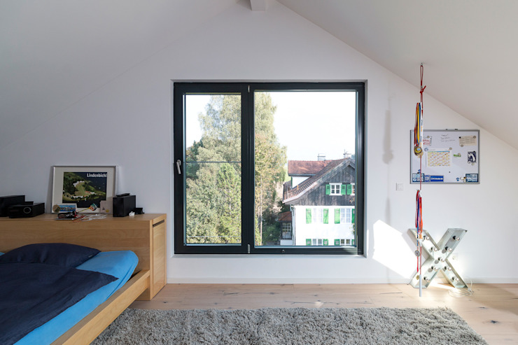 WSM ARCHITEKTEN Спальня в стиле модерн от WSM ARCHITEKTEN Модерн