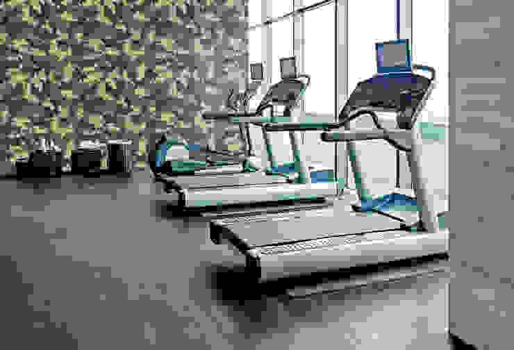 Military Moderner Fitnessraum von Pixers Modern