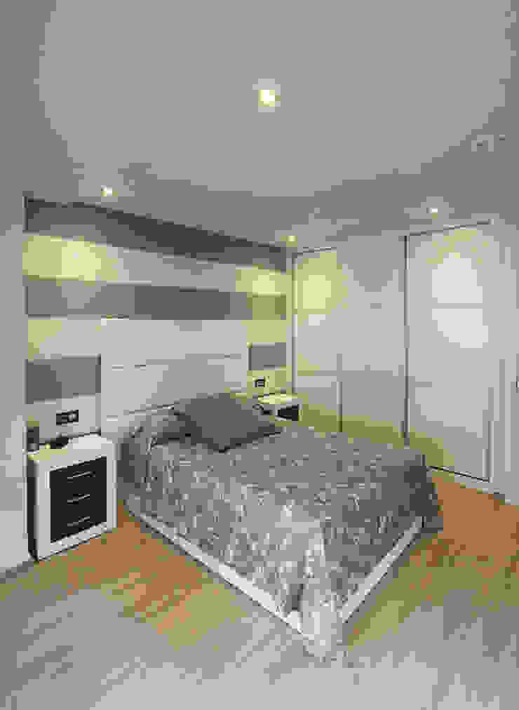 Chambre moderne par Novodeco Moderne