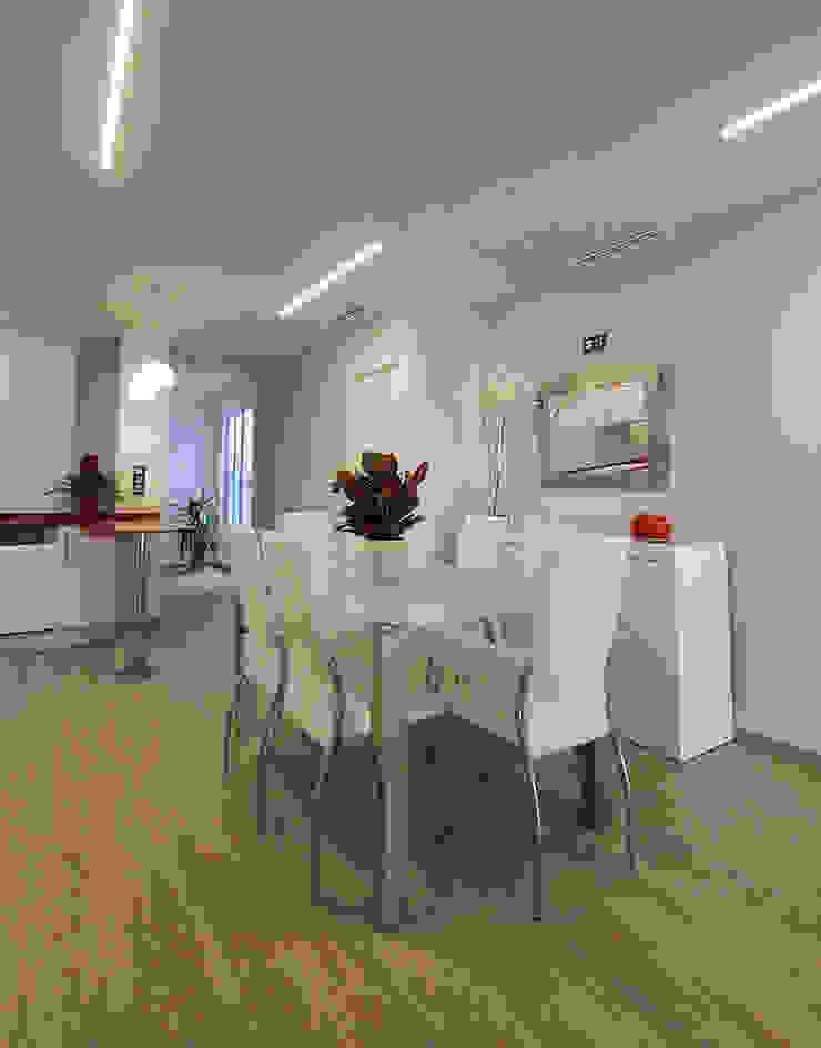 Salle à manger moderne par Novodeco Moderne