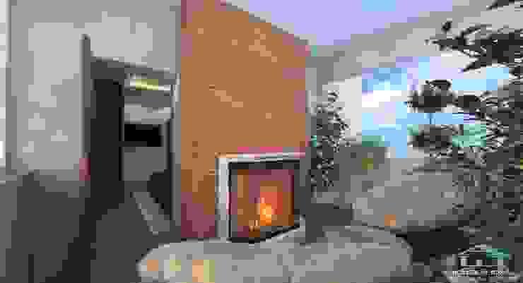HOUSE&HOME Balcones y terrazas de estilo minimalista