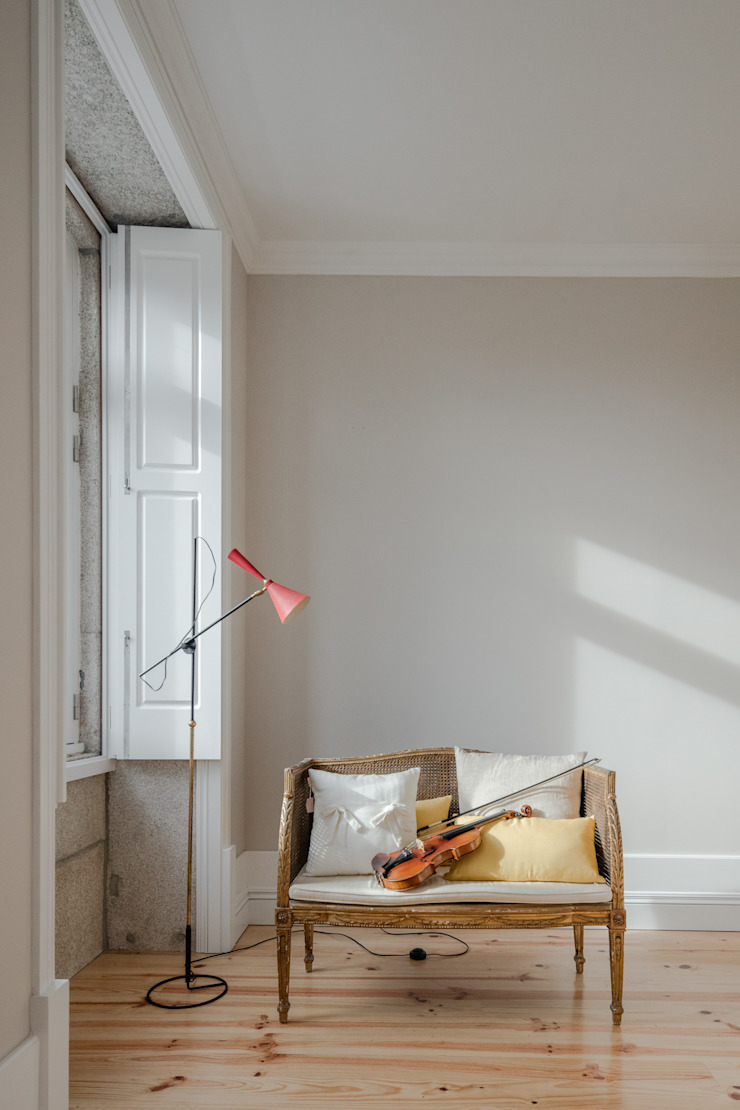 Sala de estar Salas de estar minimalistas por Pedro Ferreira Architecture Studio Lda Minimalista