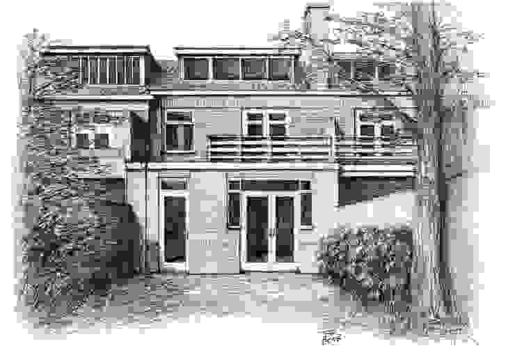 Klassische Häuser von Bob Romijnders Architectuur & Interieur Klassisch